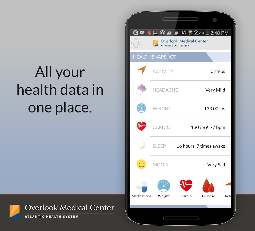 Be Well - Overlook Medical Ctr - screenshot