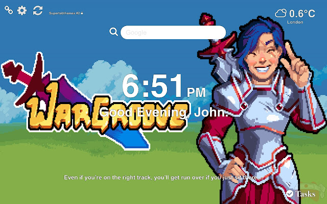 Wargroove HD Wallpapers and New Tab