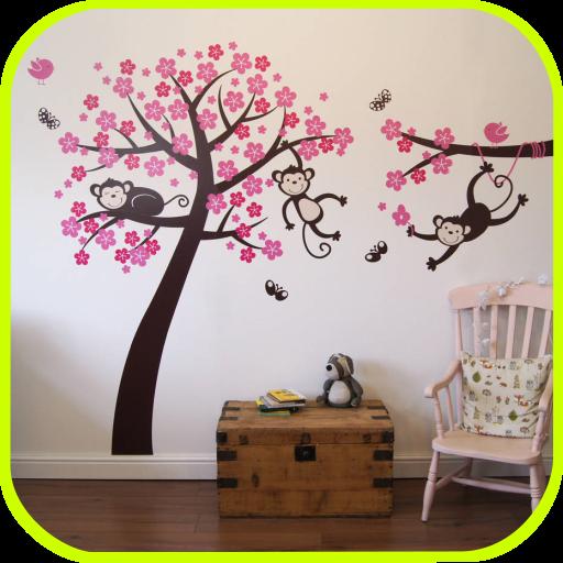 Ide Stiker Dinding Interior Rumah (app)