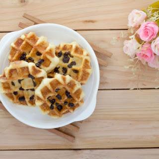 Nutty Raisin Bran Waffles
