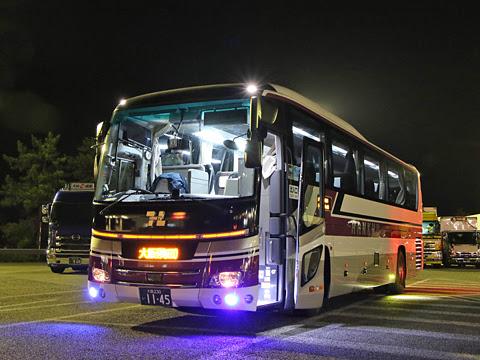 阪急バス「大阪・京都~富山線」 1145 黒丸パーキングエリアにて その1