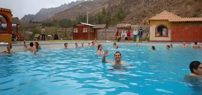 Aguas termales | CITY TOUR AREQUIPA