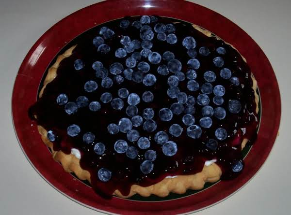 Easy Blueberry-lemon Tart