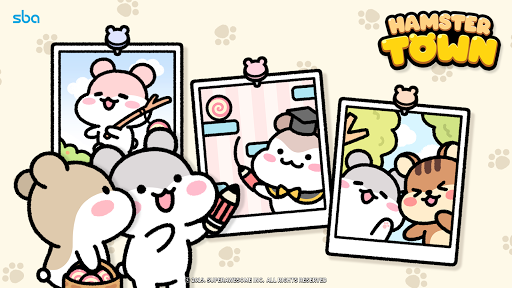 Hamster Town, the cutest drawing puzzle game ever screenshots 6