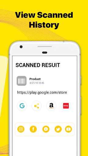 QR Code Reader & Barcode Scanner screenshots 3