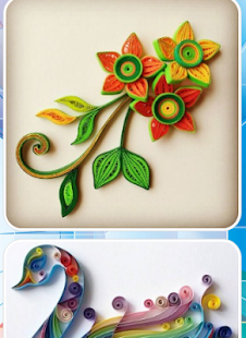 Paper Quilling Art - náhled