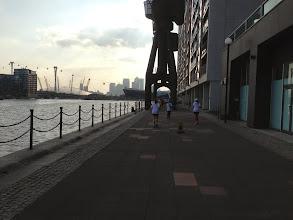 Photo: Racing along the Thames