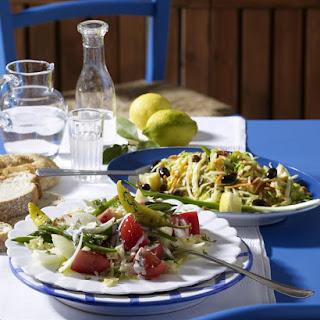 Greek Cabbage Salad.