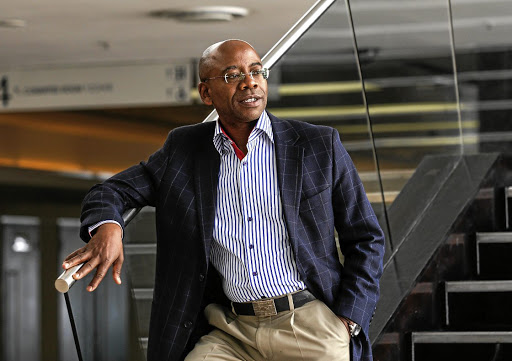 Bonang Mohale, the president of the Black Management Forum. Picture: SIMPHIWE NKWALI