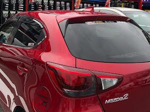 デミオ DJ5FS XD Noble Crimson 2WD 2018のカスタム事例画像 フモブレさんの2019年09月21日13:14の投稿