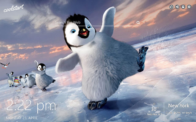 Penguins HD Wallpapers Happy Feet Theme