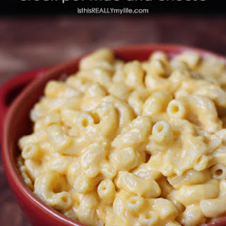 Crock Pot Mac and Cheese.