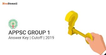 APPSC Group 1 Prelims Answer Key | Cutoff | 2019