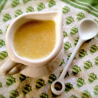 Julia Child's Oil and Lemon Dressing.