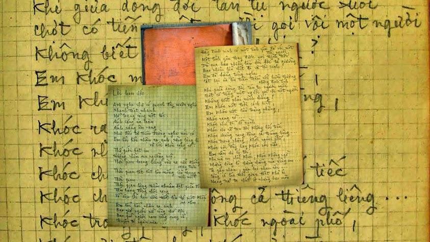 Bút tích nhà thơ Tô Thùy Yên