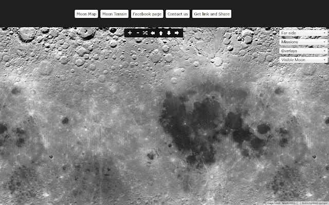 Moon Map - Chrome Web Store