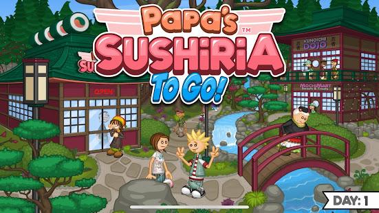 Papa's Sushiria To Go! for PC-Windows 7,8,10 and Mac apk screenshot 1