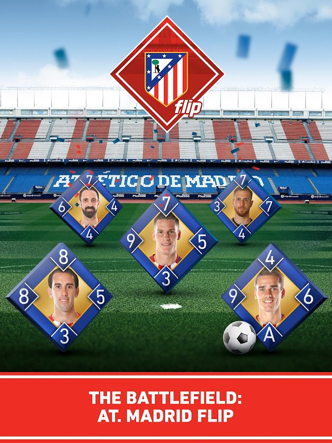 Atletico de Madrid Flip- screenshot