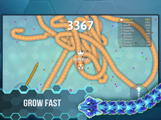 Snake.io - Fun Addicting Arcade Battle .io Games 1.15.13 screenshots 11