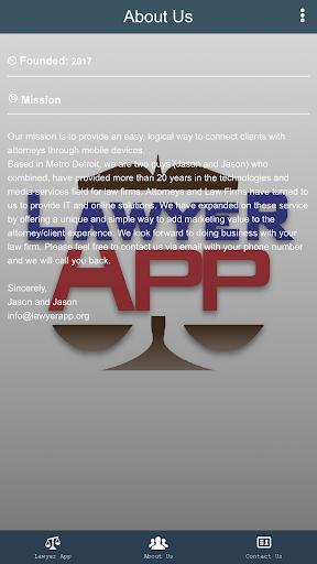 Official Lawyer App  screenshots 1