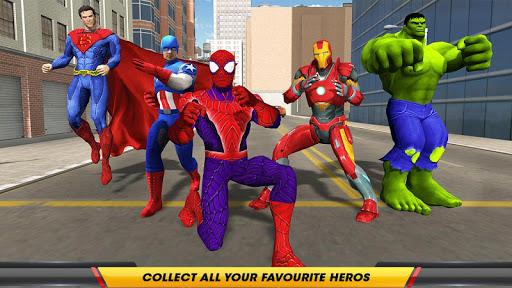 Grand Superhero City Theft Mafia Street Crime 1.1.1 screenshots 3