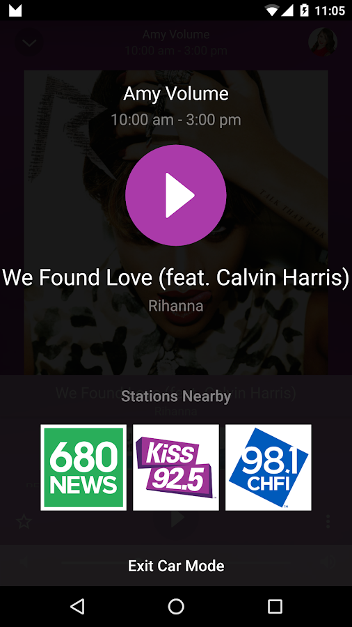KiSS 105.3 Ottawa- screenshot