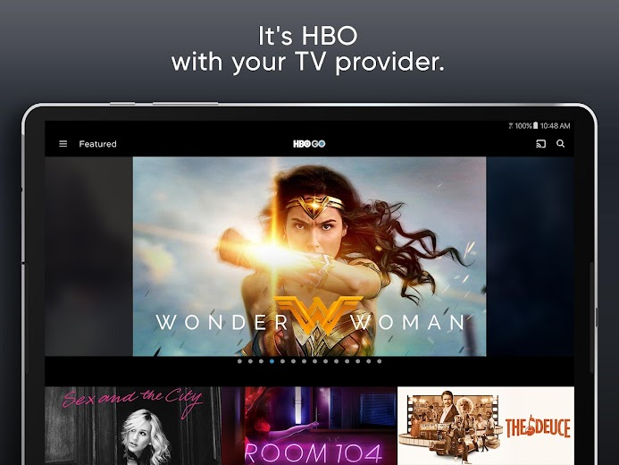 Screenshot 10 for HBO GO's Android app'