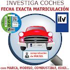 Investiga Coches - Fecha Exacta de Matrículación icon