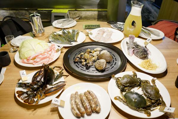 蒸龍宴蒸汽養身海鮮館(敦化店) 活體水產x蒸食 活體海鮮現點現撈現蒸煮,享受食材原味鮮甜~