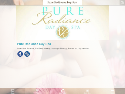 Pure Radiance Day Spa- screenshot thumbnail