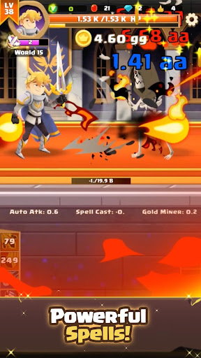 Clicker Knight: Incremental Idle RPG 5 screenshots 3
