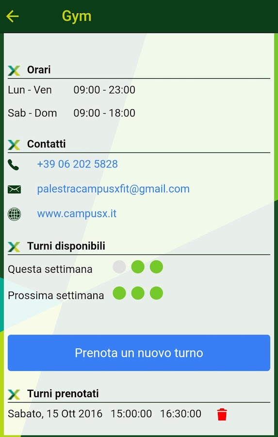 MyCampusXApp- screenshot