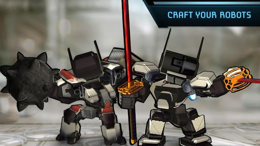 Megabot Battle Arena : Online Robot Fighting Game captures d'u00e9cran 2