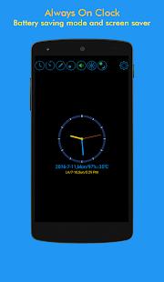 ClockView - Always On ClockㆍTalking ClockㆍWidget - náhled