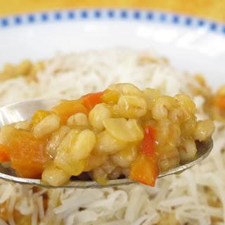 Vegetarian Barley Risotto