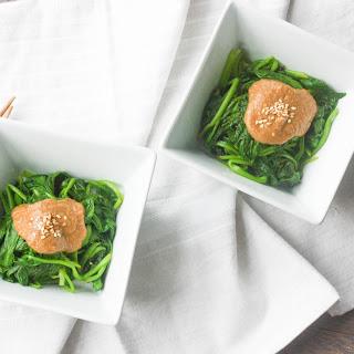 Gomae Spinach Salad