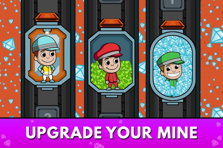 Idle Miner Tycoon - Mine Manager Simulator Android App Screenshot