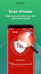 screenshot of Virus Cleaner, Antivirus, Cleaner (MAX Security)