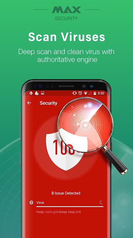 Virus Cleaner, Antivirus, Cleaner (MAX Security) screenshots