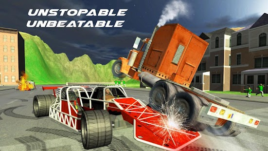 Demolition Derby 3D - Ramp Car- screenshot thumbnail