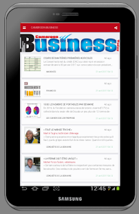 CAMEROON BUSINESS TODAY- screenshot thumbnail