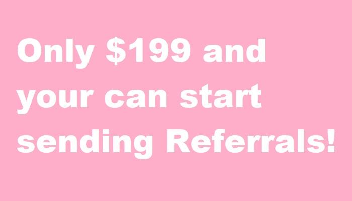 Start Sending Real Estate Referrals