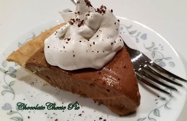 ~ Creamy Chocolate Cheese Pie ~ Recipe