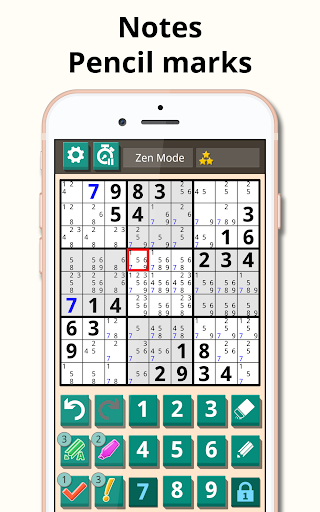Sudoku classic 1.2.516 screenshots 9