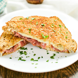 Chicken Cordon Bleu Grilled Cheese Sandwiches