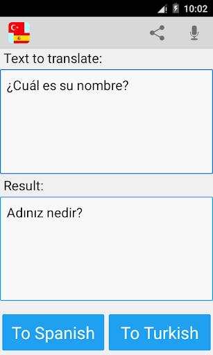 土耳其西班牙语翻译|玩書籍App免費|玩APPs