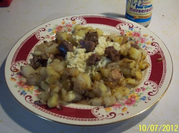 If you do not have a TENDER COPOKER...Srart with cut up  potatoes in...