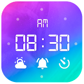 Alarm Clock with Ringtones & Math Problems Icon