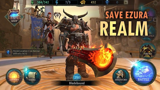 Bladebound: Immortal Hack and Slash Action RPG Screenshot