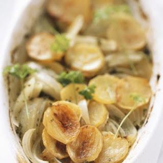 Crisp Potato and Onion Roast